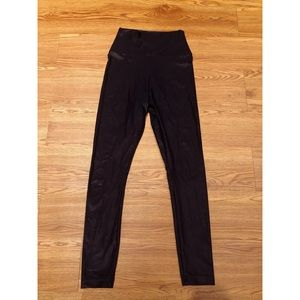 American Apparel Nylon Black Leggings
